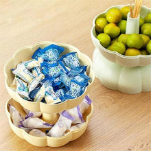Load image into Gallery viewer, Creative Double Layer Pumpkin House Decoration Snack Candy Fruit Holders Food Storage Basket
