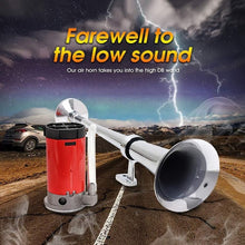 Load image into Gallery viewer, 150DB Car Horn Super Loud 12V Single Trumpet Air Horn