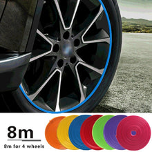 Load image into Gallery viewer, 8m Car Wheel Decor Protection Sticker