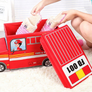 Non-woven Car-shape Storage Box