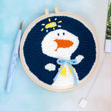 Load image into Gallery viewer, DIY Punch Needle Embroidery Kit-Duck
