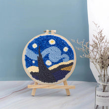 Load image into Gallery viewer, Starry Sky Series DIY Punch Needle Embroidery Kit