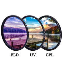 Load image into Gallery viewer, 3-in-1 Camera Lens Filter Set