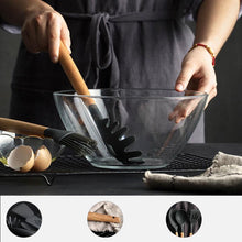 Load image into Gallery viewer, New 12PCS Silicone Cooking Utensils Set Non-stick Spatula Shovel Wooden Handle