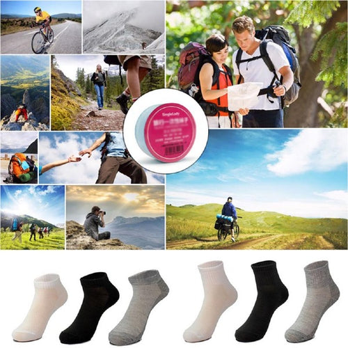 5 Pair Unisex Travel Disposable Breathable Socks