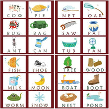 Load image into Gallery viewer, Learning English Cards Spelling Words Kids Games