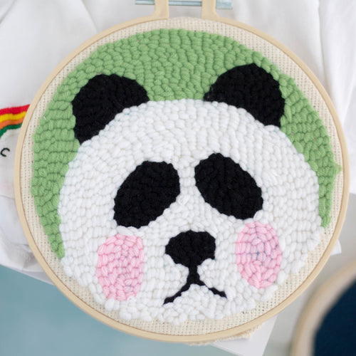 DIY Punch Needle Embroidery Kit-Panda