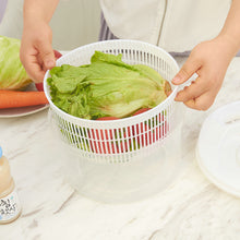Load image into Gallery viewer, Salad Spinner Lettuce Greens Washer Dryer Drainer