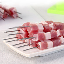Load image into Gallery viewer, BBQ Meat 49 String Skewer Tools