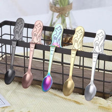 Load image into Gallery viewer, Stainless Steel Cartoon Coffee Spoon