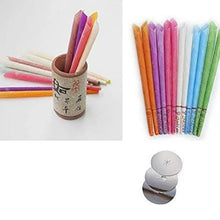 Load image into Gallery viewer, Beeswax Fragrant Ear Candle 10pcs