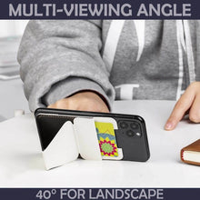 Load image into Gallery viewer, Magnetic Sticky Foldable Phone Card Holder
