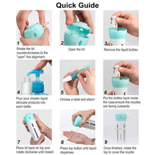 Load image into Gallery viewer, Travel Four-in-one Lotion Cosmetic Rotating Portable Sub-bottle Set(BUY 1 GET 2ND 10% OFF)