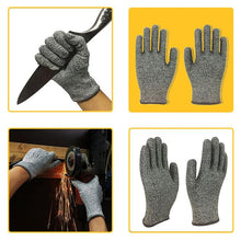 Load image into Gallery viewer, 1pair Cut Resistant Gloves