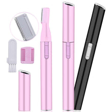 Load image into Gallery viewer, Mini Portable Electric Face Eyebrow Scissors Hair Trimmer