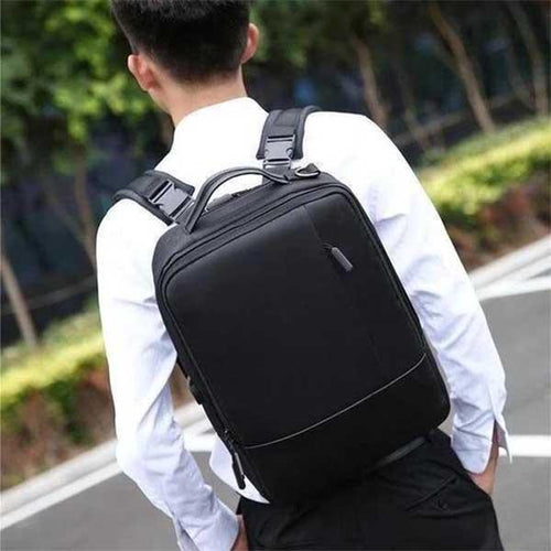 Premium laptop anti-theft backpack with USB port