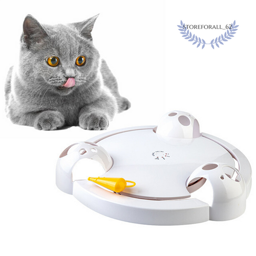 Smart Funny Cat Toy Electric Turntable