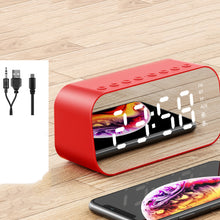 Load image into Gallery viewer, Portable LED Digital Display Wireless Bluetooth Speaker with Alarm Clock