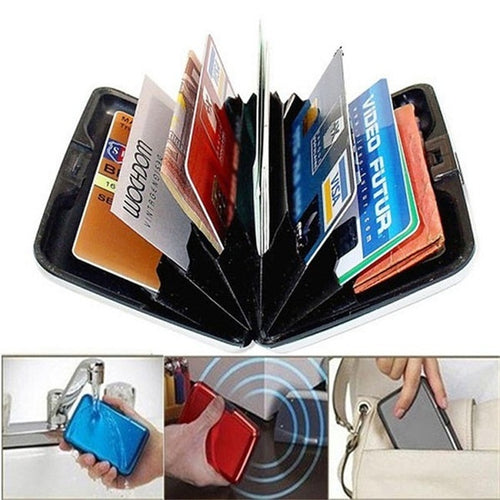Glossy Multicolored Pocket Wallet