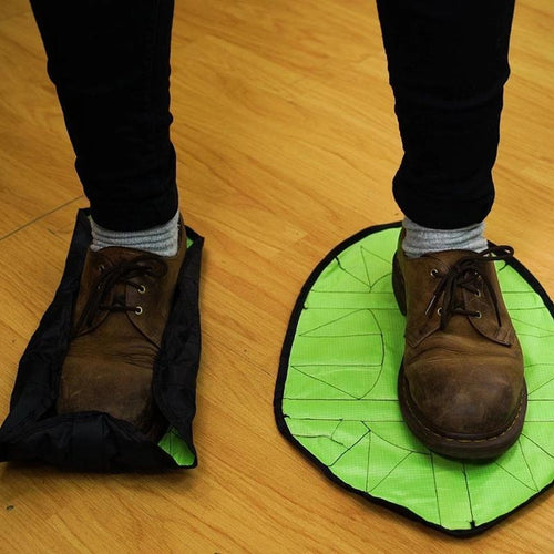 Automatic Durable Portable Dust Hands-Free Reusable Shoe Covers