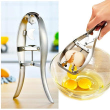 Load image into Gallery viewer, Stainless Steel Quick Egg Opener