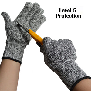 1pair Cut Resistant Gloves
