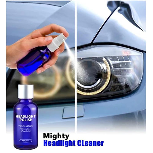 9H Auto Quick Car Headlight Cleaning Polish
