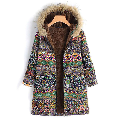Vintage Casual Plus Size Fashion Coats