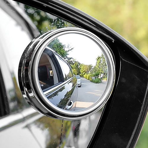 360 Degree Wide Angle Universal Blind Spot Mirror For Car