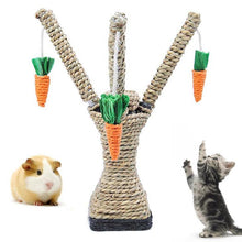 Load image into Gallery viewer, Pet Cat Hamster Climbing Carrot Tree