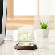 Load image into Gallery viewer, USB Wooden Drink Warmer