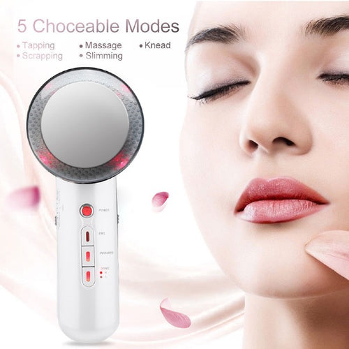 3 in 1 Ultrasound Cavitation Body Massager