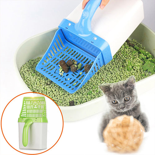 Pet Dog Cat Litter Shovel Pet Cleaning Tool Scoop Sift Cat Sand Cleaning Products
