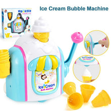 Load image into Gallery viewer, Baby Bath Ice Cream Bubble Toys