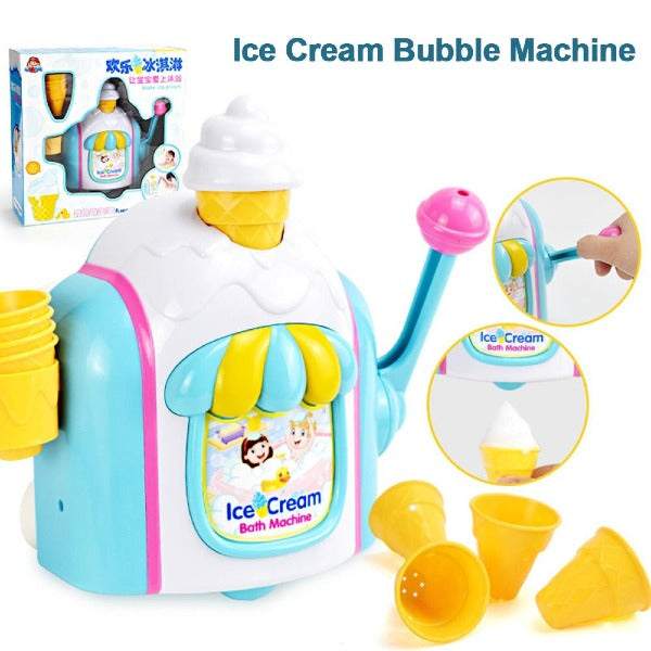 Baby Bath Ice Cream Bubble Toys