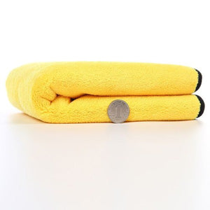 Coral Fleece Double Color Double-sided High-density Car Cleaning Wash Towel