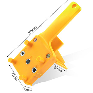 6-10mm ABS Wood Drill Bits Plastic Pocket Hole Guide Tool For Carpentry