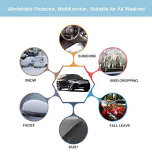 Load image into Gallery viewer, Universal Winter Windshield Snow Cover Sunshade