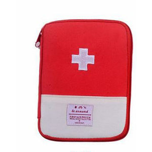 Portable Outdoor First Aid Kit Bag Pouch Travel Medicine Package Emergency Kit