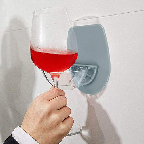 Plastic Wall-mounted Bar Wine Glass Holder