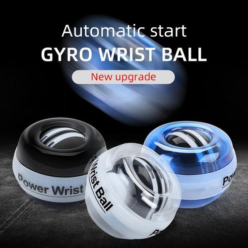 Gyro Wrist Exercise Ball Arm Strengthener Essential Auto-start Power Force Ball