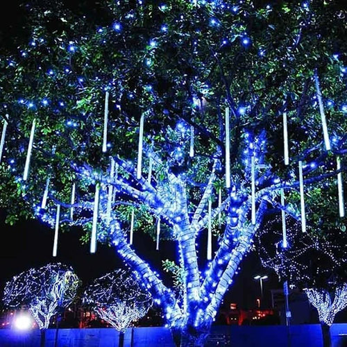 Romantic Aesthetic Snow Fall LED Lights