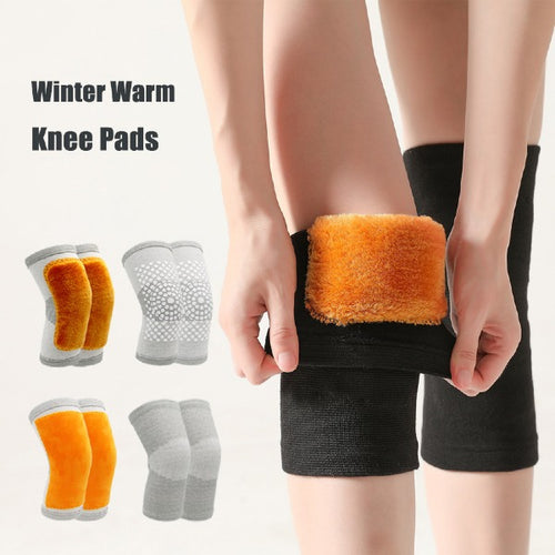 1 Pair Winter Warm Knee Pads