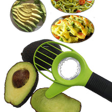 Load image into Gallery viewer, 3-in-1 Multi-functional Fruit Seeder Core Splitter Cutting Supplies Vegetable Tools