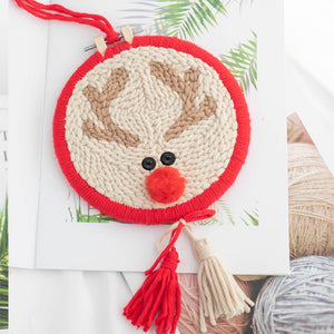 DIY Punch Needle Embroidery Kit-Deer