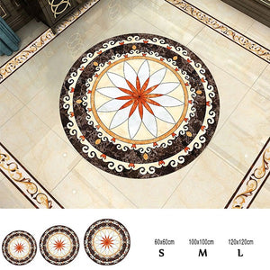 Art Decor Floor Tiles Diagonal Stickers