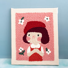 Load image into Gallery viewer, Little Girl Series DIY Embroidery Kit