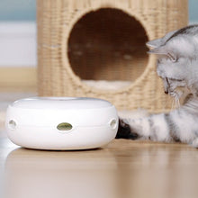 Load image into Gallery viewer, Electric Cat Catching Mouse Donut Automatic Turntable Smart Teasing Toy