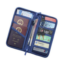 Load image into Gallery viewer, Travel Document Full Closure Zipped Bags