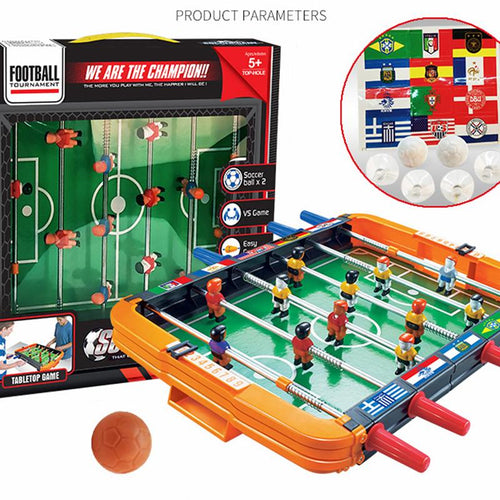 Adult Child Table Soccer Sport Entertainment Portable Interaction Game